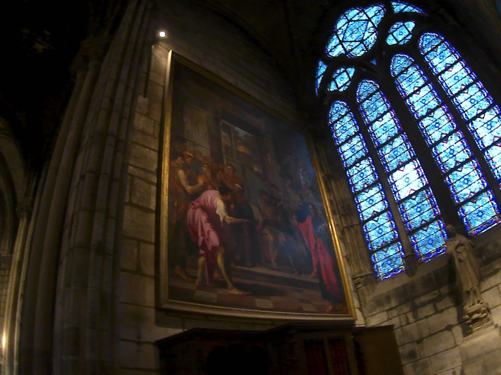 Notre-Dame de Paris, finestra