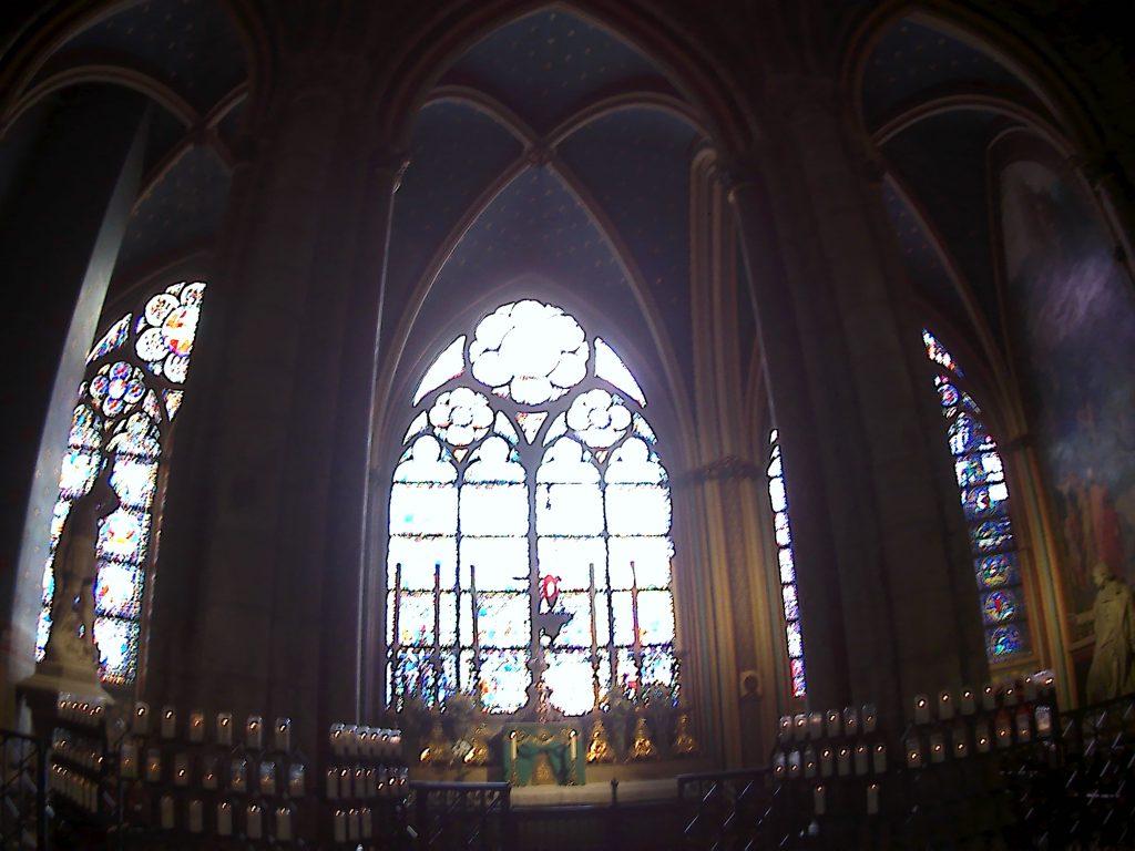 Notre-Dame de Paris, altare della cappella di San Giorgio