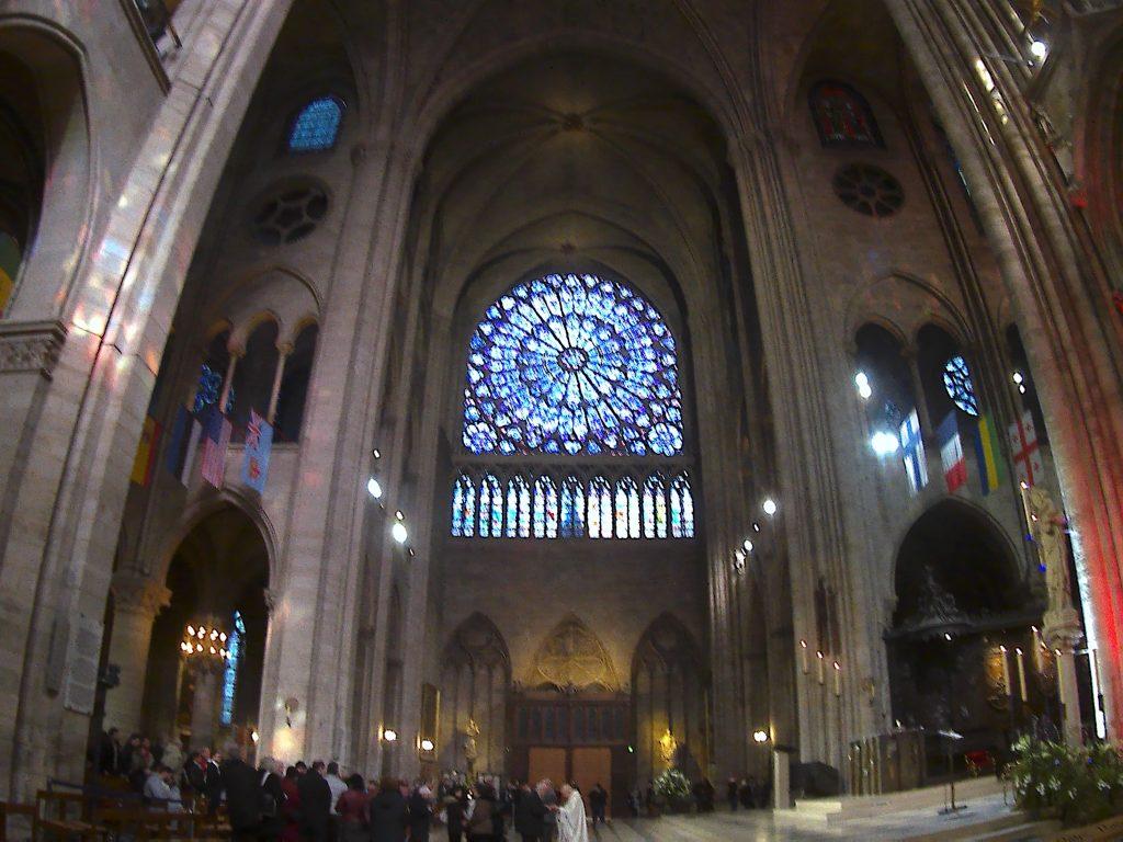 Notre-Dame de Paris, navata altare