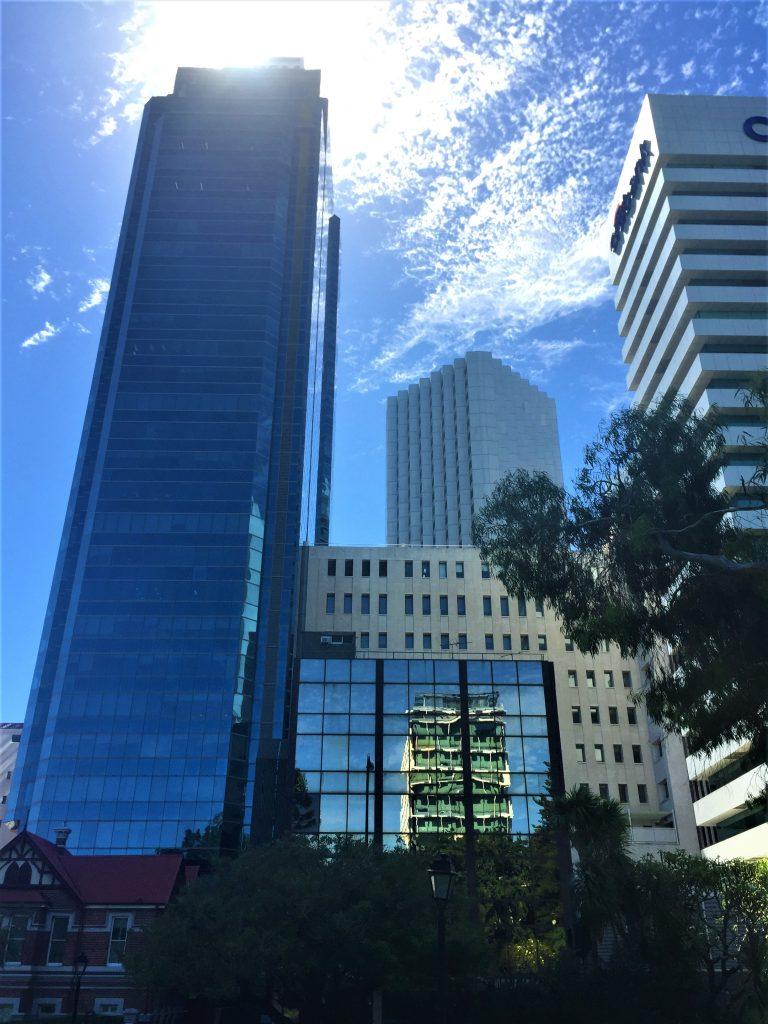 Grattacieli di Perth