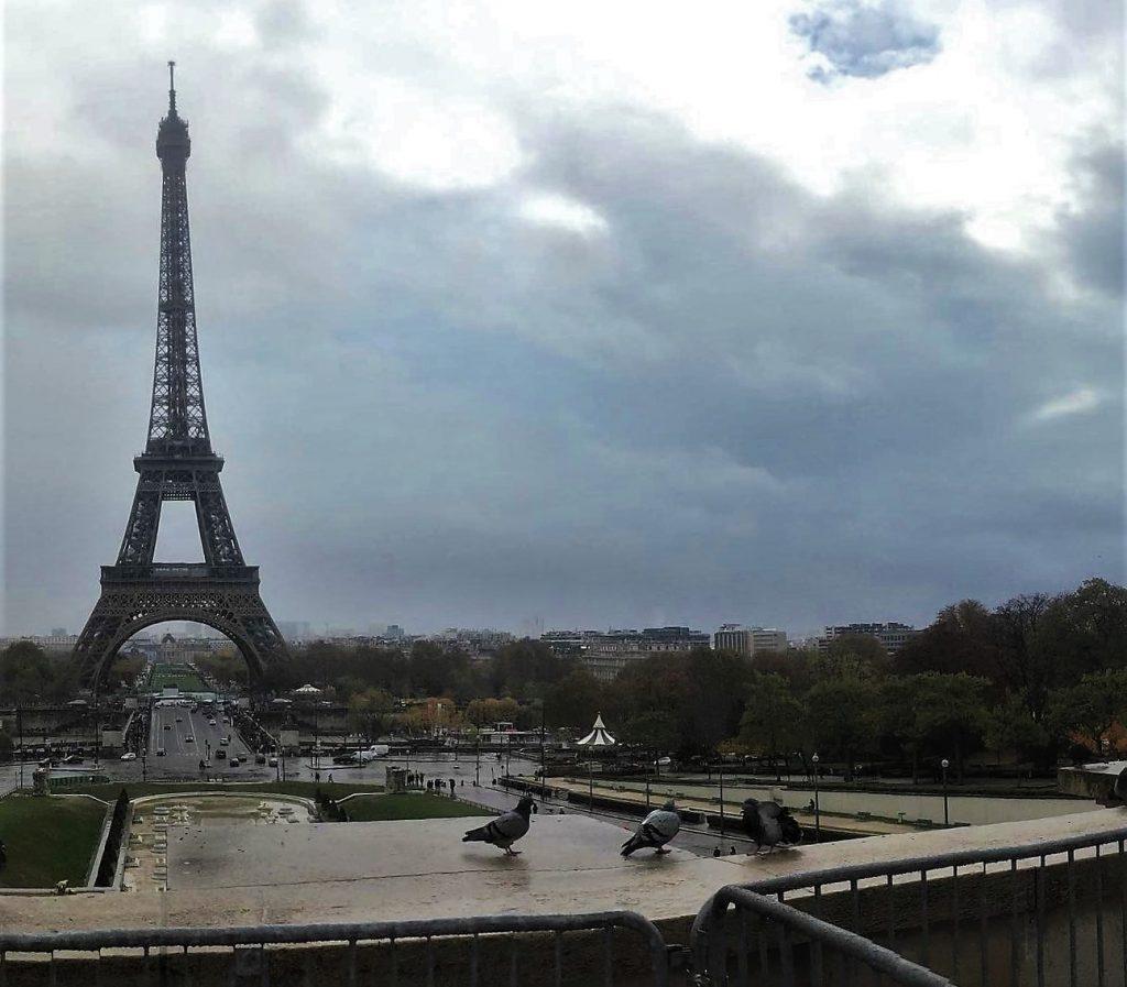 Torre Eiffel da piazza del Trocadéro