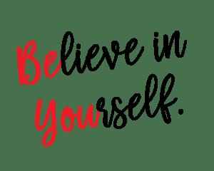 Credi in te stesso (in inglese)