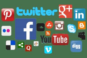 Icone dei social networks