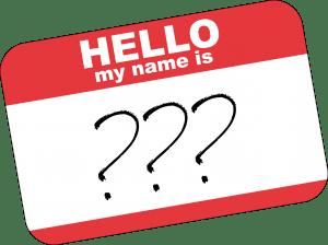 Qual è il mio nome?