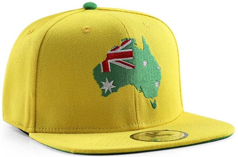 Cappello con motivo Australia